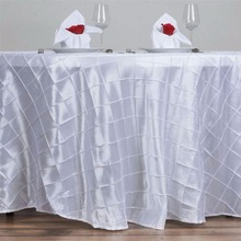 Buy White Taffeta Rectangle Table Cloth 54*118inch Wedding Table Cover Overlay Solid Color Wedding Banquet Home Party Decoration 1PC for $17.99 in AliExpress store