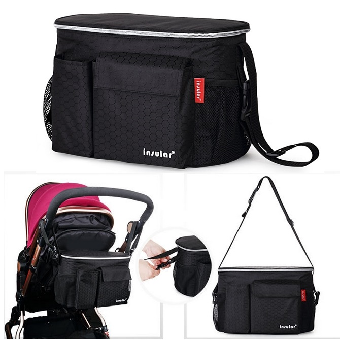 fashion Thermostat Maintaining the temperature stroller bags maternity mother diaper bags tote Shoulder multifunctional baby bag