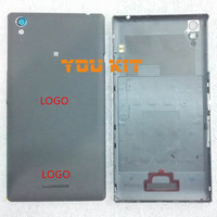 Original Battery Cover Rear Back Housing Door + NFC + Camera Flash Lens + Side Buttons For Sony Xperia T3 M50W D5102 D5103 D5106