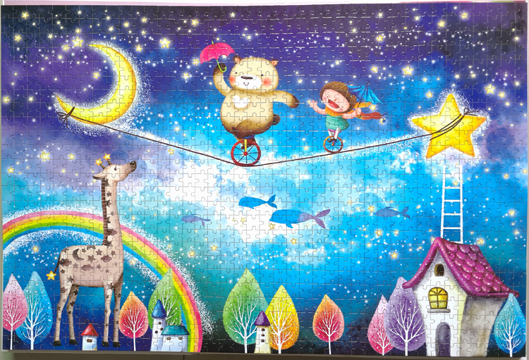 2015 new product wooden adult jigsaw puzzle 1000pcs(China (Mainland))
