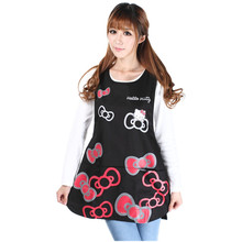 Multi Sale New Shipping Hello Kitty Cotton Aprons Kitchen Accessories Fashion Overalls Home Apron Version of Japan Cooking