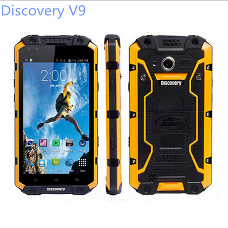 "Original 4.5"" IPS Discovery V9 IP68 Rugged Waterproof Phone MTK6572 Android 4.4 960X540 512MB RAM 4GB ROM WCDMA 3G Smart Phone(China (Mainland))"