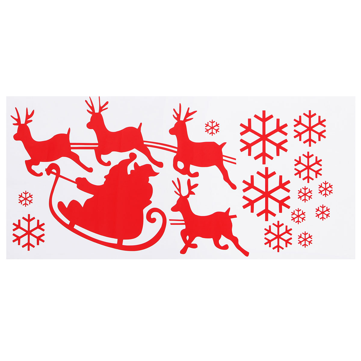 Best Promotion Removable Merry Christmas Deer Wall Stickers Art Vinyl Decal Mural Wall Decor Fit For Home Shop(China (Mainland))
