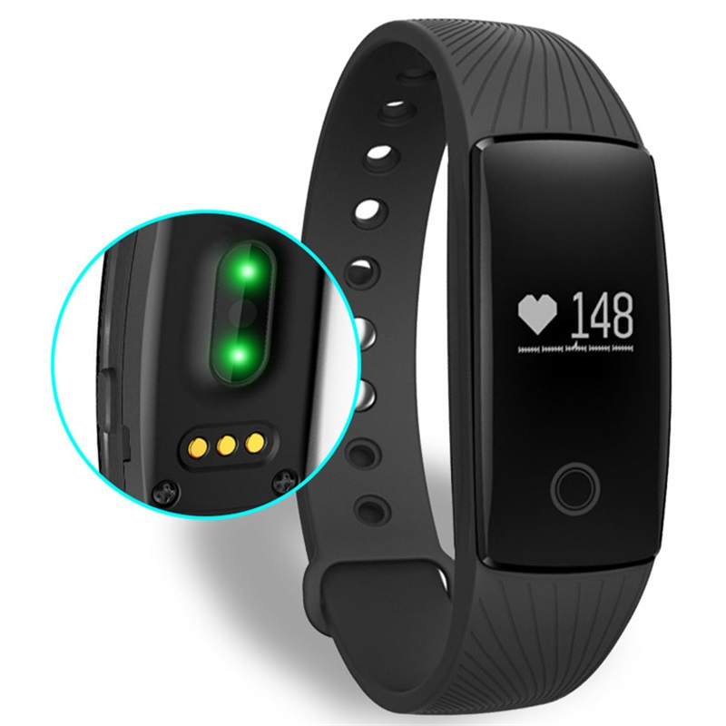 Heart Rate Smartband Smart Bracelet Wristband Fitness Activity Tracker Bluetooth PK Mi Band for IOS Android Miband(China (Mainland))