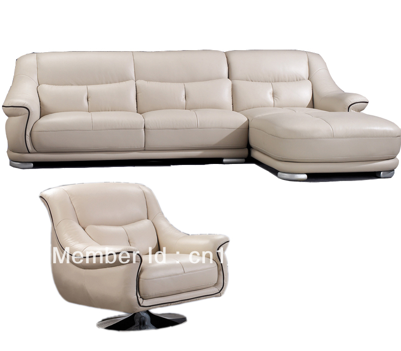 Buy morden sofa leather sofa corner for Discount leather furniture