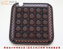 Cheap Electric Heating Jade Stone Massage Pad Cushion Cover Wholesale China Supplier SIZE 45*45CM(China (Mainland))
