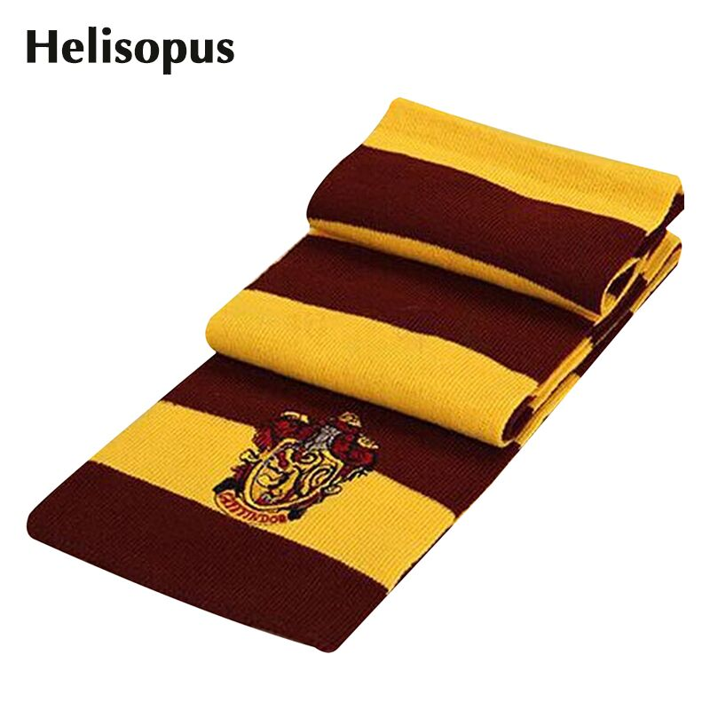 2016 Fashion Winter Scarves Harry Potter Scarf Scarves Knit Scarves Cosplay Costume Gift for Teenagers(China (Mainland))