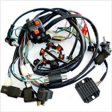 GY6 Wire Loom Harness Solenoid Magneto Coil Regulator CDI 150cc ATV Quad Bike TA(China (Mainland))