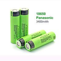 1 PCS/lot 100% Original NCR18650B 18650 3400 mah 3.7 V Li-lon Rechargeable battery for Panasonic