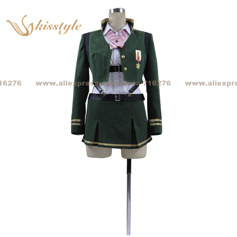 Kisstyle Fashion Anti-Magic Academy: The 35th Test Platoon Ouka Ootori Uniform COS Clothing Cosplay Costume,Customized Accepted