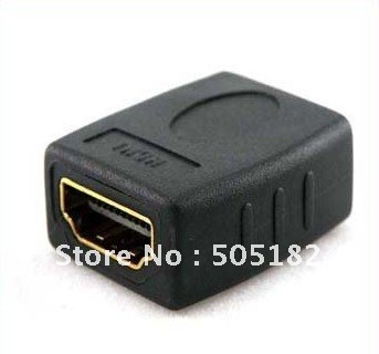 Hot sale + low prie HDMI Female to Female Gender Changer Adapter Coupler+free shipping +drop shipping+tracking number
