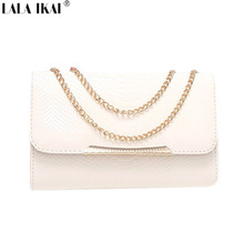 Brand Design Serpentine Clutch Elegant Women Messenger Bags Popular Evening Handbags with Chains Purse Flap BWB0678-2(China (Mainland))