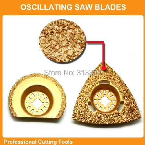 Professional 40pcs set Oscillating Tools Saw Blades Accessories fit for Multimaster power tool as Fein Dremel