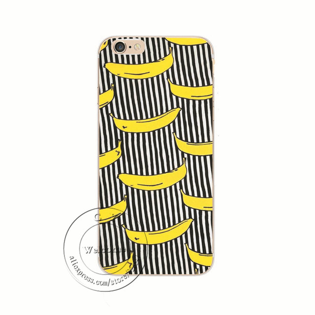 Case Iphone 4/5/6/6S/6Plus/6SPlus/7/7Plus Banane World