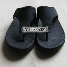 Fashionable Men's sandals, health care shoes, special price,Men word procrastinates shoesfree shipping  (Brown)(China (Mainland))