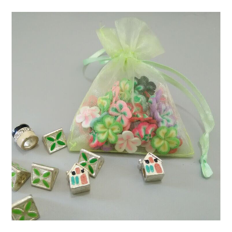Wedding Gift Bags For Candy : 50PCS Organza Jewelry Gift bag Wedding Gift Box Candy Bags 7*9cm and 7 ...