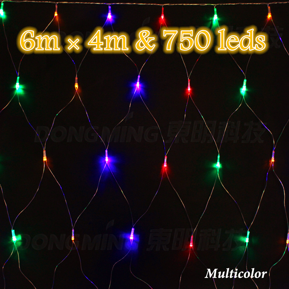 750leds 6 4m net string light outdoor garden party for 160 net christmas decoration lights clear