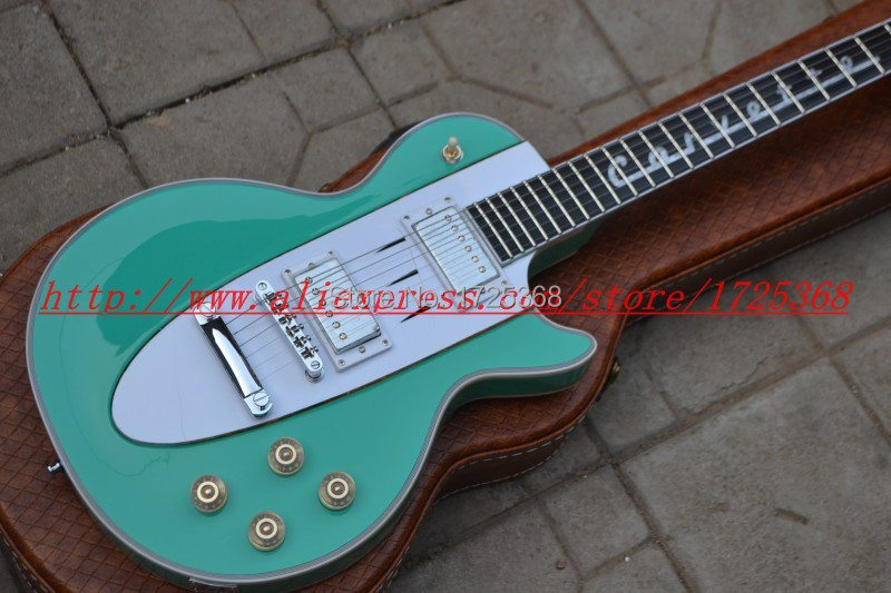 New Custom Shop 1960 Corvette rosewood light green electric guitar Free Shipping(China (Mainland))