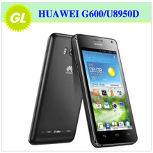 Original HUAWEI Honor+ U8950D Ascend G600 Mobile Phone 3G Dual-SIM Dual-core Android 4.0 4.5''QHD IPS 768MB RAM/4G ROM(China (Mainland))