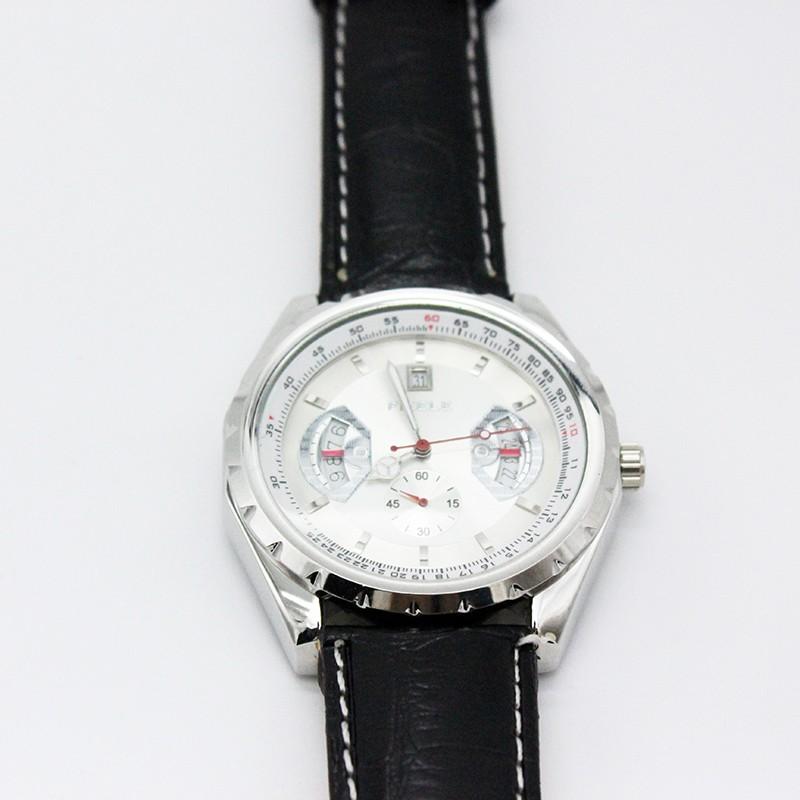 Luxury Brand 2016 Мода Наручные Часы Из Нержавеющей Стали Часы Мужской Кожаный Ремешок Механические Часы Мода Повседневная 3 М Водонепроницаемый