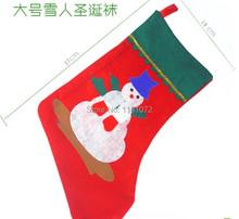 2014 christmas accessories  christmas gift of sock  christmas sock free shipping (China (Mainland))
