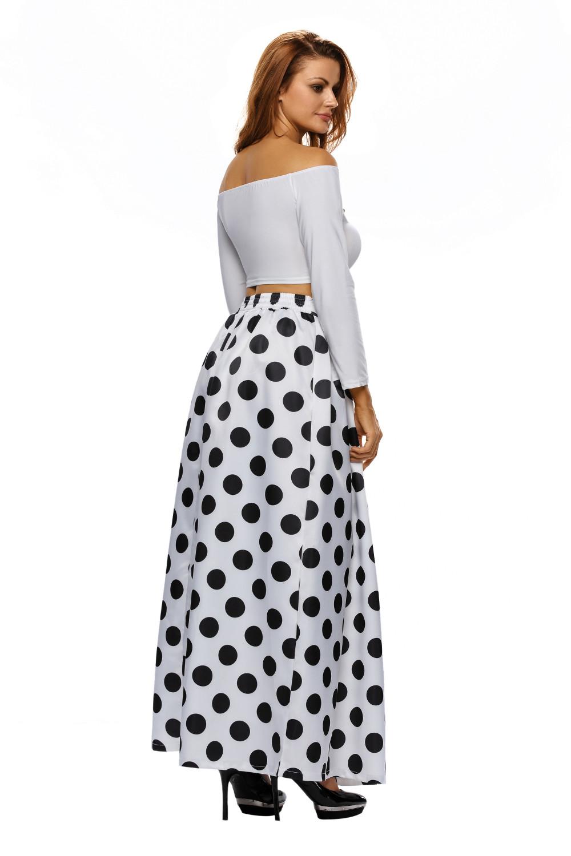 High-Waist-Polka-Dot-Print-Pleated-Maxi-Skirt-LC65019-1-4