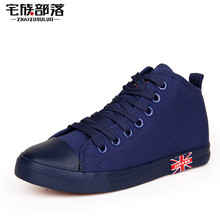 Spring Summer Low High Style Unisex Canvas Shoes for Men Women Lovers Zapatos Classic Casual Board Star Shoes All Size 35-43(China (Mainland))