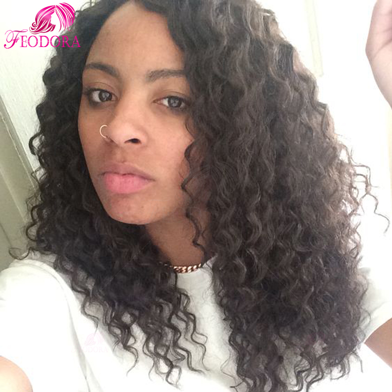 u part wig with free kinky curly 100% human hair in stock unprocessed brazilian u part wig Grade 7a customized natural hairline