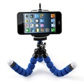 Mini Portable Flexible Sponge Octopus Tripod Stand Mount With Holder For Phone Action Camera and Camcorder