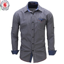Buy 2017 New Arrival Men's shirt Long Sleeve Plaid Shirts Mens Dress Shirt Brand Casual Denim Style Checks Shirts 106 for $13.99 in AliExpress store