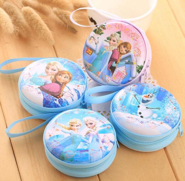 Горячие продажи мультфильм портмоне Эльза Анна принцесса девушки чехол для ключей ...