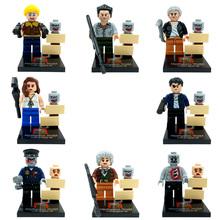 Zombie Building Blocks Sets Model DIY Bricks Figure Toys For Children Educational Toys No Orignial Box