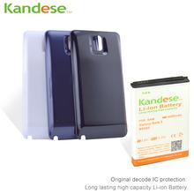1 шт./лот бренд KANDESE 8600 мАч примечание 3 бизнес расширить аккумулятор для Samsung Galaxy Note3 N9000 N9005 + белый двери