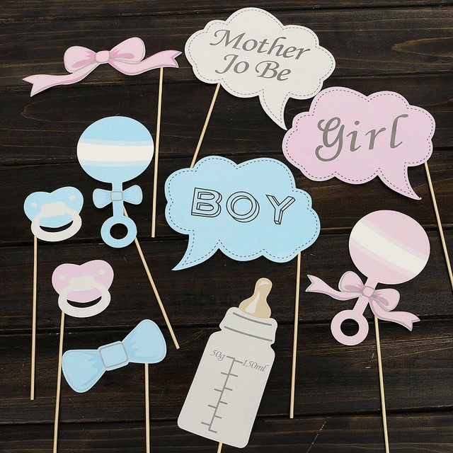 Party Decorations for Baby shower, 10 pcs