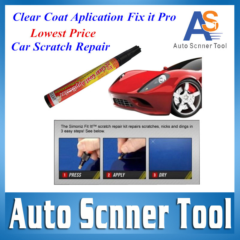 2016 1 PCS Magic New Fix It Pro Painting Repair Car Scratch Repair Pen Remover Simoniz Clear Coat Applicator For Each Car Owner(China (Mainland))