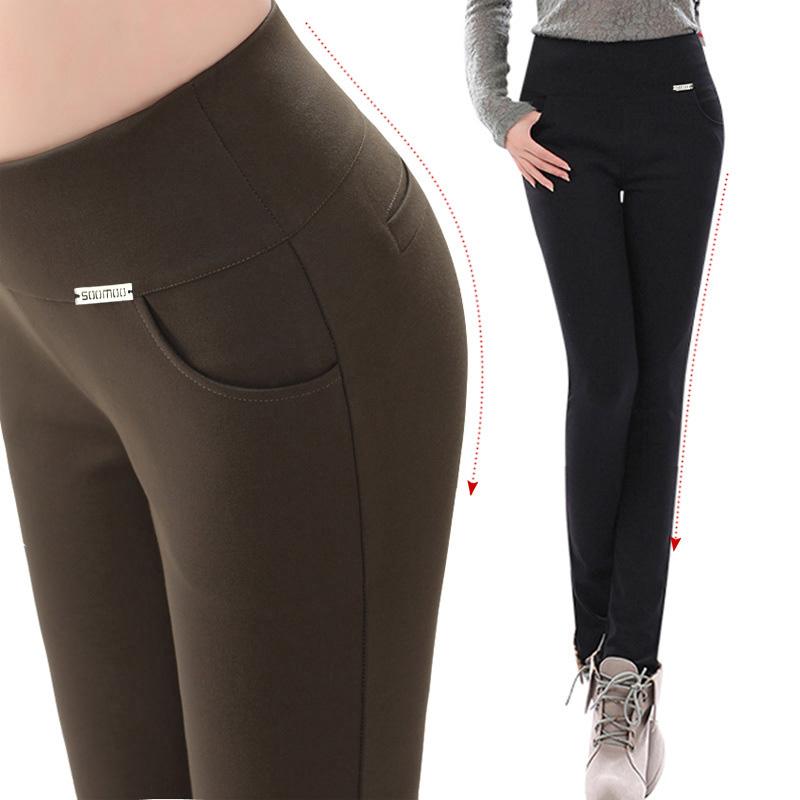 jogging femme  spring black legging plus size clothing elastic skinny pants sports pants long trousersОдежда и ак�е��уары<br><br><br>Aliexpress
