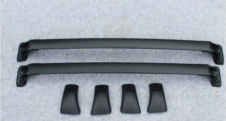 High Quality OEM design baggage luggage rack bar for Toyota Highlander Kluger 2014 2015 cross roof rail Free Shipping(China (Mainland))