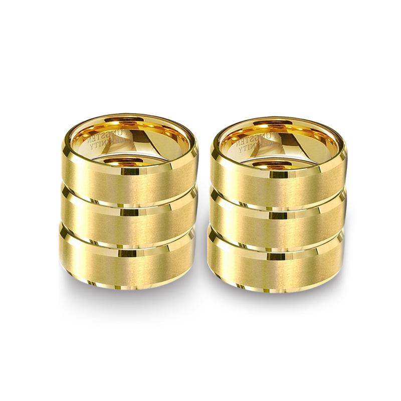 aliexpress buy 6pcs lot wholesale gold rings