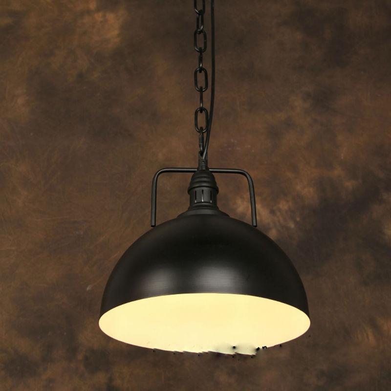 vintage pendant light industrial edison lamp american. Black Bedroom Furniture Sets. Home Design Ideas