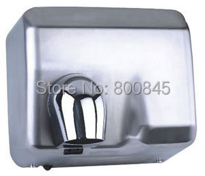 2300W stainless steel hand dryer, hand drier,  hotel hand dryer, sensor hand dryer,    FACTORY SELL DIRECTLY