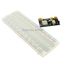 hot 3 3V 5V MB102 Breadboard power module MB 102 830points Prototype Bread board for arduino