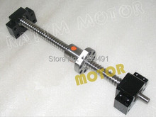 1Set SFU1605 Ballscrew 1350mm end machined+ 1set BK/BF12 Support RM 1605-c7 - L&Y Queen store