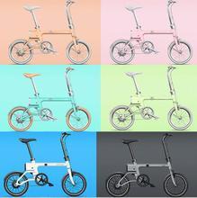 YUNBIKE UMA PRO 3.2AH LG lithium battery intelligent folding bike, electric bicycle electric folding bike(China (Mainland))