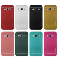 Slim New Version Motomo Aluminum Metal Brushed Hard PC Armor Back Protectiv Case Cover For Samsung Galaxy Core Prime