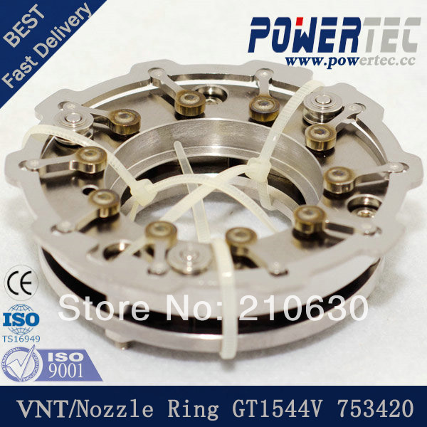 Turbo nozzle ring GT1544V turbo VNT 753420 Citroen Berlingo 1.6 HDi,109HP - PT TURBO store