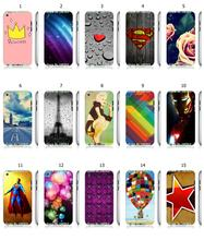 Hybrid Design Protective Mobile Phone Case Hot 1pc Princess Skull Star White Hard Case For ipod touch 4 4th Free Shipping