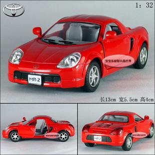 New 1:32 Toyota MR2 Alloy Diecast Model Car Red B197b(China (Mainland))