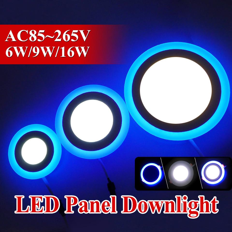 Гаджет  Newest Design LED Panel Light 6w 9w 16w Three Model Light Round led panel lights AC85-265V Recessed Ceiling panel CE UL ROHS None Свет и освещение