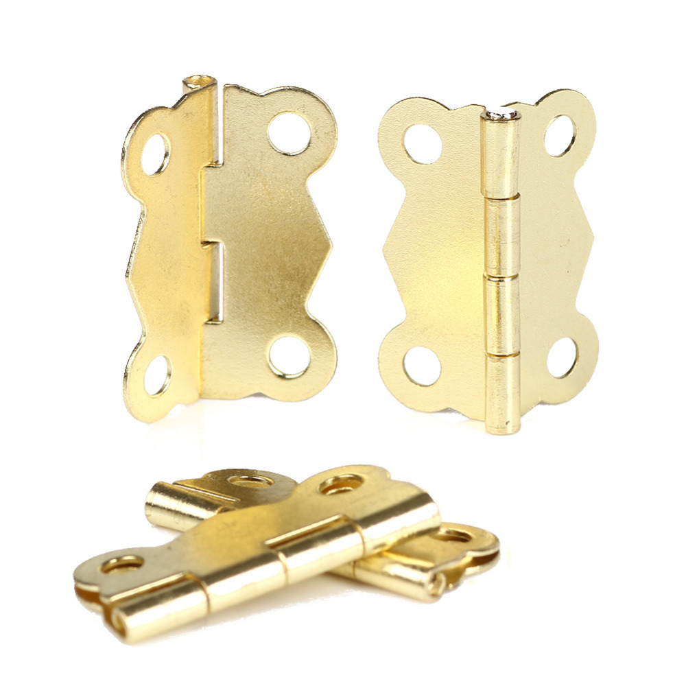 Special Design 10Pcs Mini Iron Butterfly Hinges Cabinet Drawer Door Butt Hinge on Sale Free Shipping(China (Mainland))