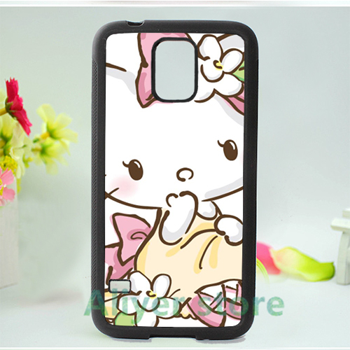 hello kitty sanrio 4 cell phone case cover for Samsung galaxy S3 S4 S5 S6 S7 Note 2 Note 3 Note 4 *vf647(China (Mainland))